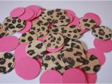 Leopard Birthday Decorations Leopard Cheetah Hot Pink Confetti Perfect for Your Party