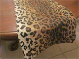 Leopard Birthday Decorations Leopard Print Table Runner Safari Party Decorations Jungle
