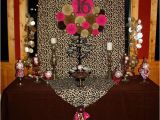Leopard Decorations for Birthday Leopard and Hot Pink Sweet 16 Birthday Party Ideas Photo