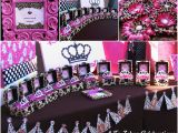 Leopard Decorations for Birthday Leopard Princess Party Style with Nancy