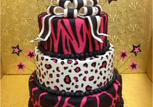 Leopard Decorations For Birthday Print Cakes Decoration Ideas Little