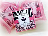 Leopard Print Birthday Decorations Bridal Shower Favors Leopard Print Party Favor Shabby Chic