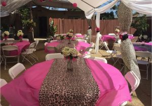 Leopard Print Birthday Decorations Cheetah themed Party