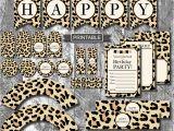 Leopard Print Birthday Decorations Diy Leopard Print Cheetah Print Birthday Party Decorations