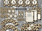 Leopard Print Birthday Party Decorations Diy Leopard Print Cheetah Print Birthday Party Decorations