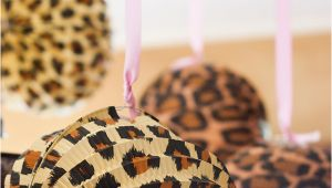 Leopard Print Birthday Party Decorations Super Simple Cheetah Birthday Party Ideas Overstuffed