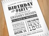 Letterpress Birthday Invitations Letterpress Birthday Invitations Best Party Ideas