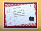 Librarian Birthday Card Library Card Librarian Dewey Decimal Card for by