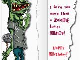 Life Size Birthday Cards Life Size Birthday Card Huge Zombie Birthday Card Free