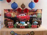 Lightning Mcqueen Birthday Decoration Ideas Disney Pixar Cars Lightning Mcqueen In Radiator Springs