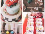 Lightning Mcqueen Birthday Decoration Ideas Kara 39 S Party Ideas Cars Lightning Mcqueen Birthday Party