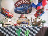 Lightning Mcqueen Birthday Decoration Ideas Kara 39 S Party Ideas Lightning Mcqueen Cars Birthday Party