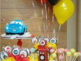 Lightning Mcqueen Birthday Decoration Ideas Kara 39 S Party Ideas Lightning Mcqueen Cars themed