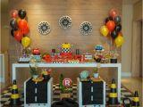 Lightning Mcqueen Birthday Decoration Ideas Lightning Mcqueen Cars Birthday Party Planning Decor