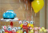 Lightning Mcqueen Birthday Decorations Kara 39 S Party Ideas Lightning Mcqueen Cars themed
