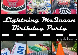 Lightning Mcqueen Birthday Decorations These Little Loves A Cars 3rd