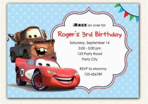 Lightning Mcqueen Birthday Invitations Free Printable 301 Moved Permanently