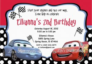 graphic regarding Disney Cars Birthday Invitations Printable Free identify Lightning Mcqueen Birthday Invites No cost Printable Free of charge