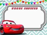 Lightning Mcqueen Birthday Invitations Free Printable Cars 3 Invitation