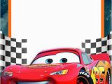 Lightning Mcqueen Birthday Invitations Free Printable Invitation Template