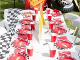 Lightning Mcqueen Birthday Party Decorations Kara 39 S Party Ideas Lightning Mcqueen Ka Chow Birthday