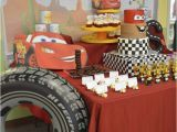 Lightning Mcqueen Birthday Party Decorations Lightning Mcqueen Birthday Party Ideas Photo 4 Of 32