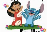 Lilo and Stitch Birthday Card Personalised Birthday Card Lilo and Stitch by