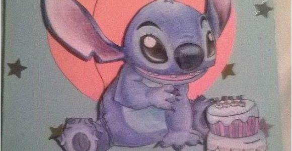 Lilo and Stitch Birthday Card Stitch Birthday Card by Clii On Deviantart