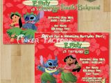 Lilo and Stitch Birthday Party Invitations Lilo and Stitch Birthday Party Invitation Choose From 5