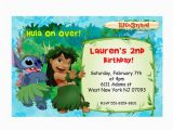 Lilo and Stitch Birthday Party Invitations Lilo Stitch Birthday Invitations Printable by tonypartyfavor