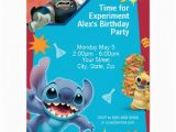 Lilo and Stitch Birthday Party Invitations Personalized Lilo and Stitch Invitations