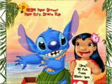 Lilo and Stitch Birthday Party Invitations Printable Lilo and Stitch Invitation Lilo and Stitch Party