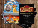 Lion Guard Birthday Party Invitations Novel Concept Designs Disney 39 S the Lion Guard Lion