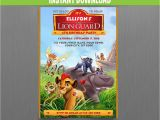 Lion Guard Birthday Party Invitations the Lion Guard Birthday Invitation Instant Download