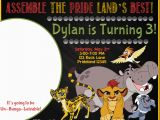 Lion Guard Birthday Party Invitations the Lion Guard Birthday Party Ideas and themed Supplies
