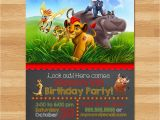 Lion Guard Birthday Party Invitations the Lion Guard Invitation Chalkboard Lion Guard Invite