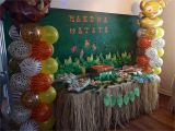Lion King 1st Birthday Decorations the Lion King 39 S First Birthday Party Candy Table Idea