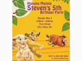 Lion King 1st Birthday Invitations Lion King Birthday Invitation Zazzle Com