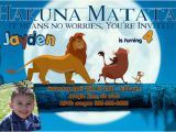 Lion King Birthday Invitation Template Free Birthday Invitation Templates Lion King Birthday