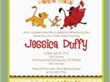 Lion King Birthday Invitation Template Free Lion King Baby Shower Invitations Template Best Template