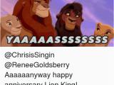 Lion King Birthday Meme Aaaaaanyway Happy Anniversary Lion King