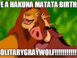 Lion King Birthday Meme Lion King Birthday Meme for solitarygraywolf by Ghosty88