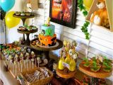 Lion King Birthday Party Decorations Disney Lion King First Birthday Little Wish Parties