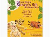 Lion King Birthday Party Invitations Lion King Birthday Invitation Zazzle Com
