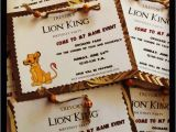 Lion King Birthday Party Invitations Lion King Birthday Party Invitations Oxsvitation Com