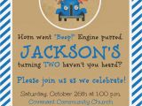 Little Blue Truck Birthday Invitations the Story Of Us Jackson 39 S Quot Little Blue Truck Quot 2nd