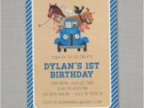 Little Blue Truck Birthday Invitations Unavailable Listing On Etsy
