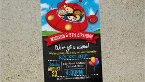 Little Einstein Birthday Invitations Little Einsteins Birthday Invitation Little Einsteins