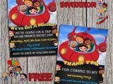 Little Einstein Birthday Invitations Little Einsteins Birthday Party Invitation by
