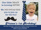 Little Man First Birthday Invitations Items Similar to Mustache Little Man 1st Birthday